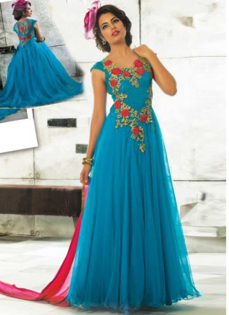 Fine Stylish Party Wear Dresses Illustration - All Wedding Dresses ...