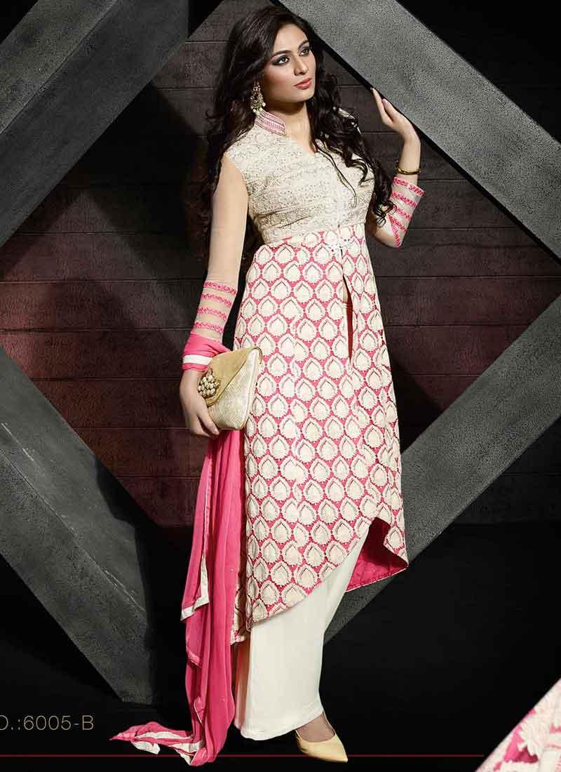 Magenta color dresses pakistani