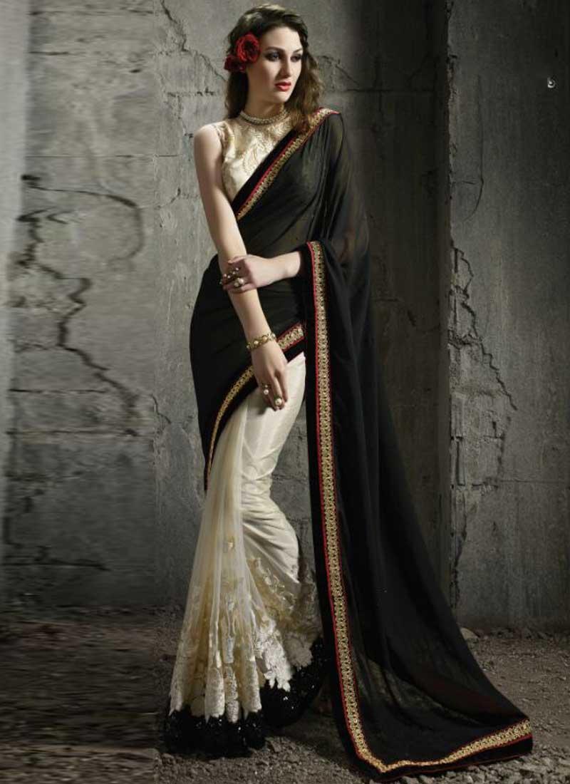 Zari lace dress white brown