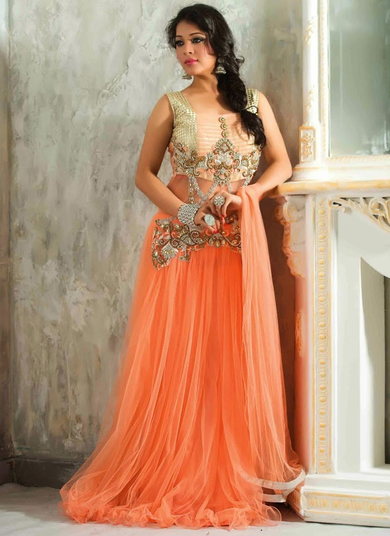 382ca846b2c Latest Designer Party Wear Gowns Online Shopping India