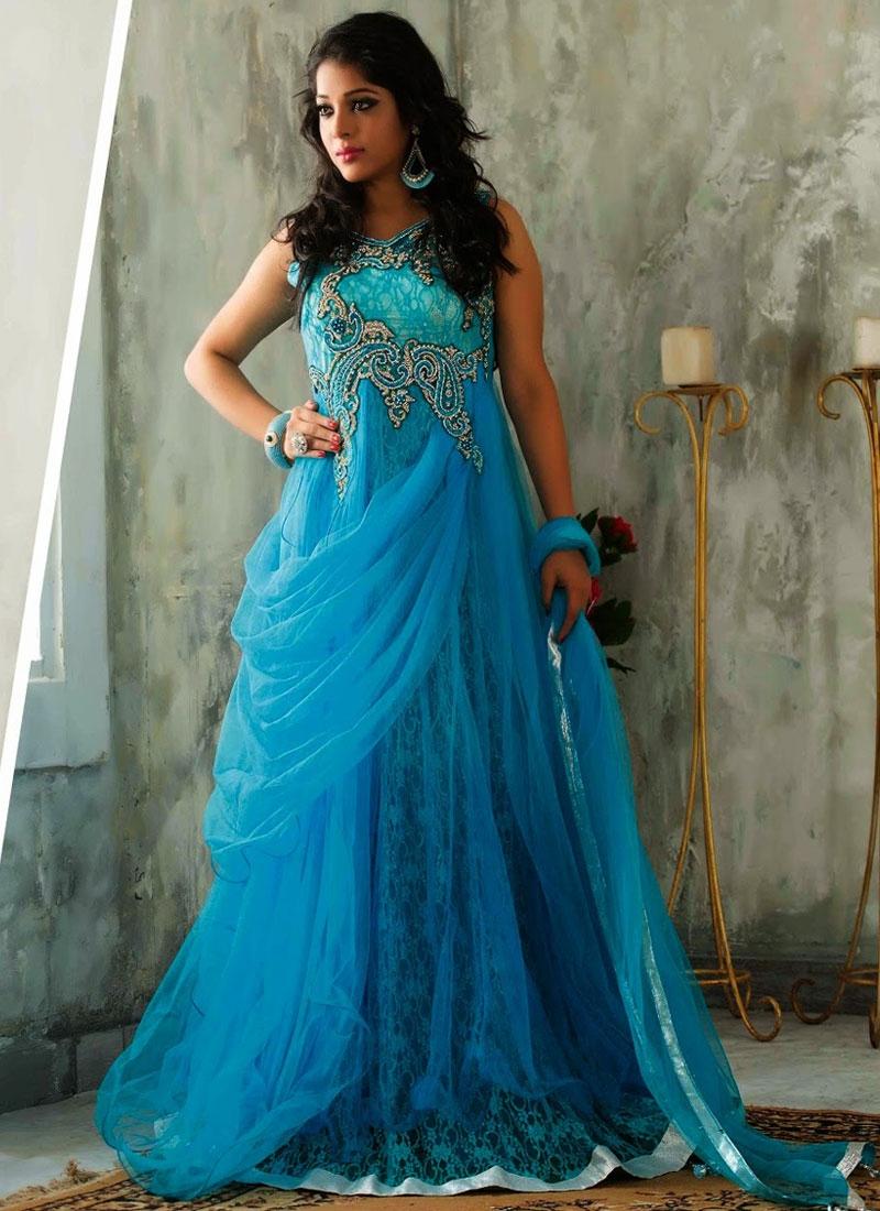 Fancy Designer Party Wear Gowns Dress Online Shopping UK